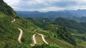 a little track up in Ha Giang