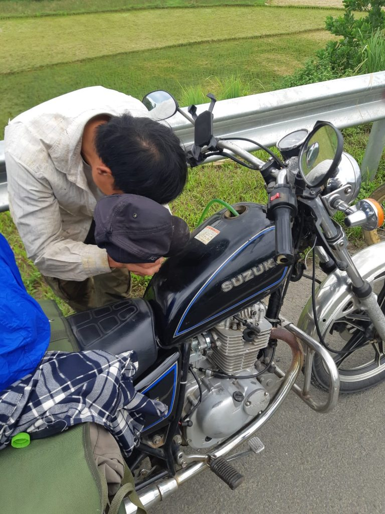 Removing Petrol from a Bike