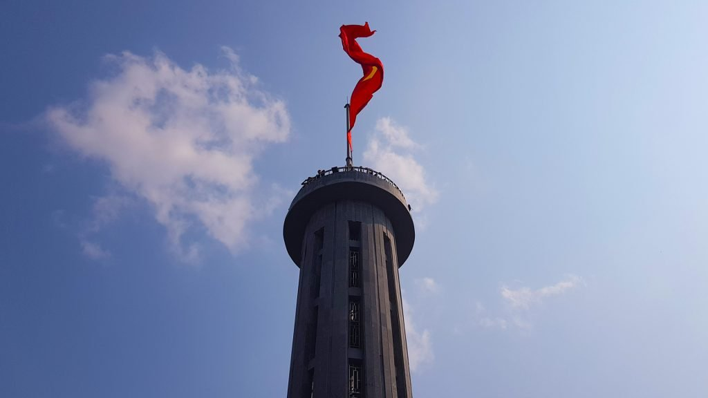 Lung Cu Flag Tower, in Vietnam's Far North